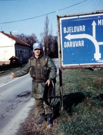 Mark Isfeld in Croatia
