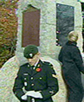 Plaque – November 2002 Green's name was added to the  plaque in Nova Scotia.