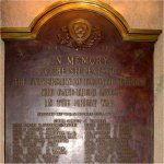 Commemorative Plaque – 1914-18 Memorial Plaque, The University Schools, University of Toronto, 371 