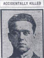 Newspaper Clipping (2) – Photograph of Flight Lieutenant Wilkin in uniform.
