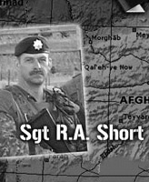 OP Athena Plaque – OP Athena plaque commemorating Sgt R.A. Short and Cpl R.C. Beerenfenger.