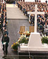 Memorial Service – Cpl Robbie Beerenfenger and Sgt Robert Short were honoured during a community memorial service held October 7 at The Pembroke Memorial Centre, Pembroke Ont.