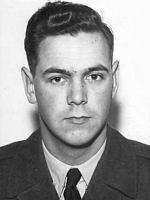 Flying Officer Bertram Gordon Paul Leon – Flying Officer Bertram Gordon Paul Leon in service uniform.