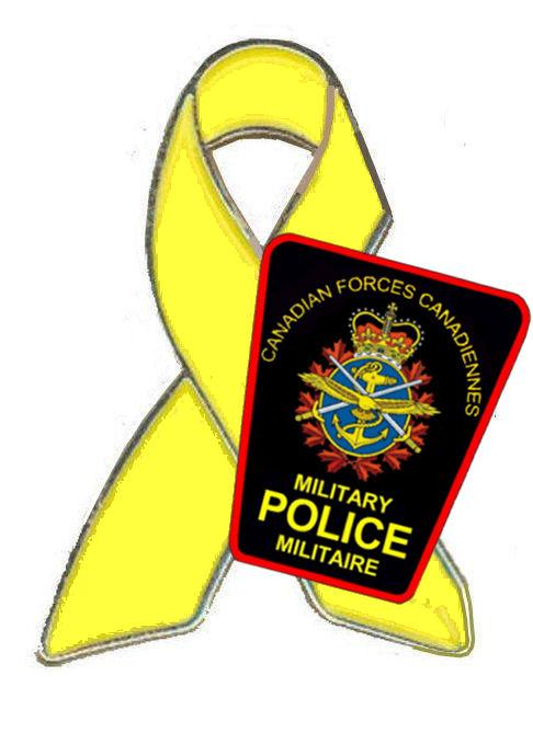 Pin – MP Support the Troops pin which was struck in honour of our fallen MP Brothers.