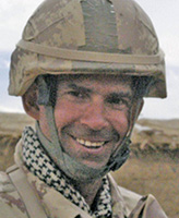 Photo of William Turner – Lieutenant William Turner of Land Force Western Area Headquarters, Edmonton, Alberta was killed when the armoured G-Wagon he was riding in was struck by a roadside bomb near the Gumbad platoon house at about 7:30 a.m. Kandahar time, April 22, 2006.