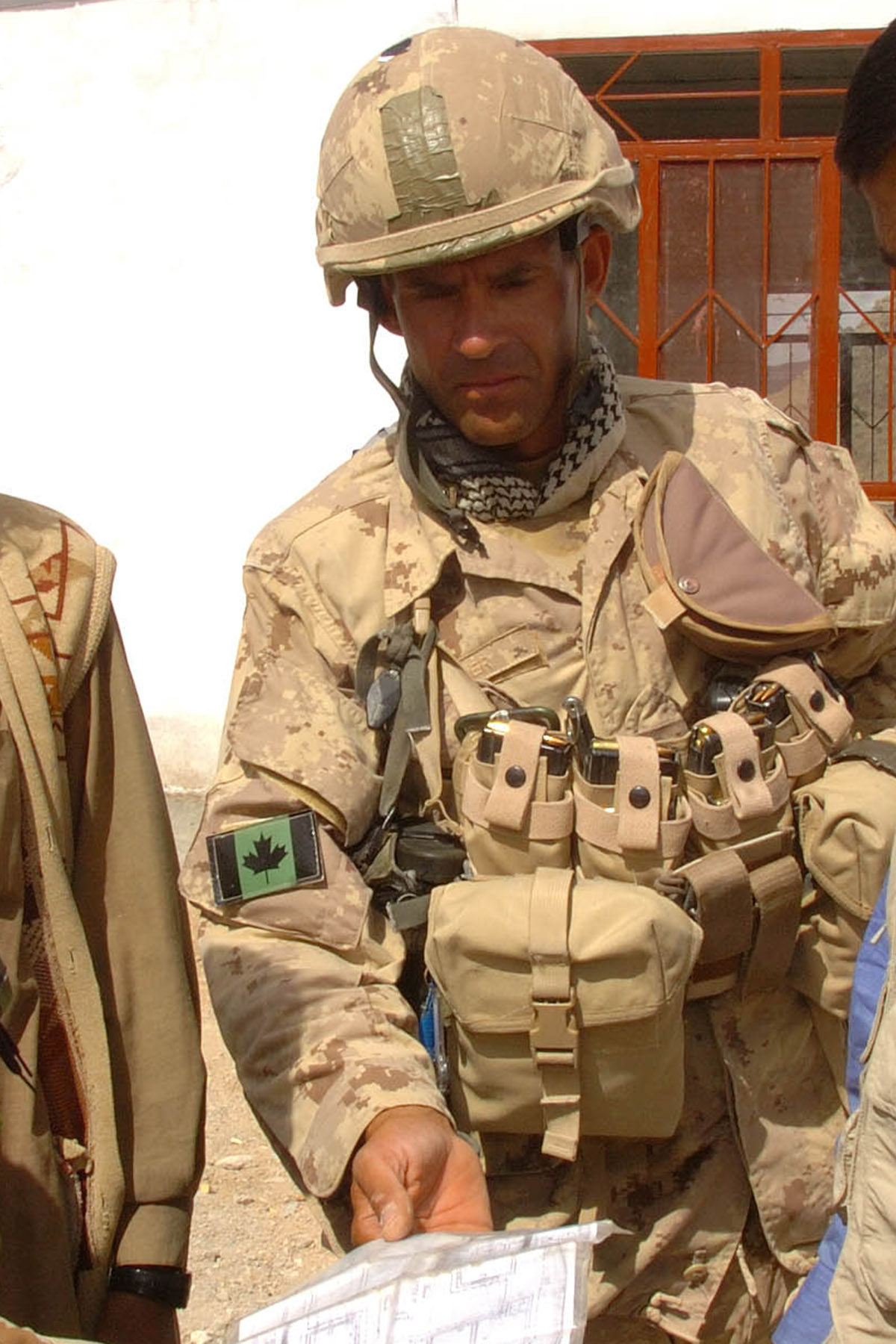Photo of William Turner – Gumbad platoon house is located in the Shah Wali Kot region, Afghanistan. Canadian soldiers provide security and conduct patrols of the surrounding area.