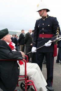Memorial Sword – The Nichola Goddard memorial sword is awarded annually at the Royal Military College of Canada to the top 4th year ROTP artillery officer cadet