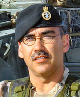 Photo of Francisco Gomez – Corporal Francisco Gomez of the Princess Patricia's Canadian Light Infantry based in Edmonton, Alberta was one of two Canadian soldiers killed on July 22, 2006 when a suicide bomber rammed a vehicle packed with explosives into their convoy approximately 5 kilometres west of Kandahar City on Highway One. Cpl. Gomez was travelling in a combat service support convoy that was returning to Kandahar Airfield after successful operations in Helmand and Kandahar provinces. Eight other Canadian soldiers were injured in the same incident.