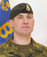 Photo of Paul Davis – Corporal Paul Davis, a Canadian soldier from Bridgewater, N.S., served with the 2nd Battalion, Princess Patricia's Canadian Light Infantry (2 PPCLI) in Kandahar, as part of Task Force Afghanistan.