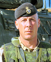 Photo of Christopher Jonathan Reid – Corporal Christopher Jonathan Reid of the 1st Battalion Princess Patricia's Canadian Light Infantry based in Edmonton was killed when his LAV III vehicle struck an improvised explosive device at 4:20 a.m. Kandahar time August 3, 2006. The incident occurred near the village of Pashmul located approximately 25 kilometres southwest of Kandahar City.