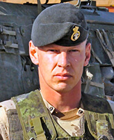 Photo of Vaughan Ingram – Sergeant Vaughan Ingram of the 1st Battalion Princess Patricia's Canadian Light Infantry was killed as a result of a rocket propelled grenade attack that occurred on August 3, 2006 near the village of Pashmul, approximately 25 kilometres southwest of Kandahar City, Afghanistan.