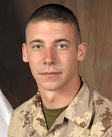 Photo of William Cushley – Private William Jonathan James Cushley, a member of 1st Battalion, The Royal Canadian Regiment, based in Petawawa, Ontario was killed on September 3, 2006 fighting against Taliban insurgents approximately 15 km west of Kandahar City.