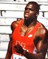 Photo de Mark Graham – Mark Anthony Graham, athlète des Olympiques à Barcelone en 1992