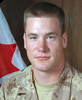 Photo of Josh Klukie – Private Josh Klukie, 1st Battalion, The Royal Canadian Regiment.  Photo: Canadian Forces Image Gallery