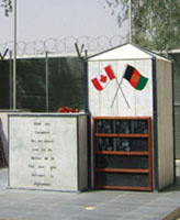 Kandahar Airfield Memorial – Kandahar Airfield Memorial, Afghanistan Photo submitted Thomas L. Skelding