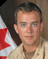 Photo of Blake Williamson – Pte Blake Williamson was killed on October 14 when his unit was ambushed near the new Panjwayi development road, 25km West of Kandahar City.  Photo:  Canadian Forces Image Gallery