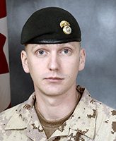 Photo of Christopher P. Stannix – Corporal Christopher P. Stannix, of the Princess Louise Fusiliers was killed when his light armoured vehicle struck an improvised explosive device near the border between Helmand and Kandahar provinces.  Photo: Canadian Forces Image Gallery