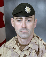 Photo of Donald Lucas – Sergeant Donald Lucas, of the 2nd Battalion, the Royal Canadian Regiment was killed when his light armoured vehicle struck an improvised explosive device near the border between Helmand and Kandahar provinces. Photo: Canadian Forces Image Gallery
