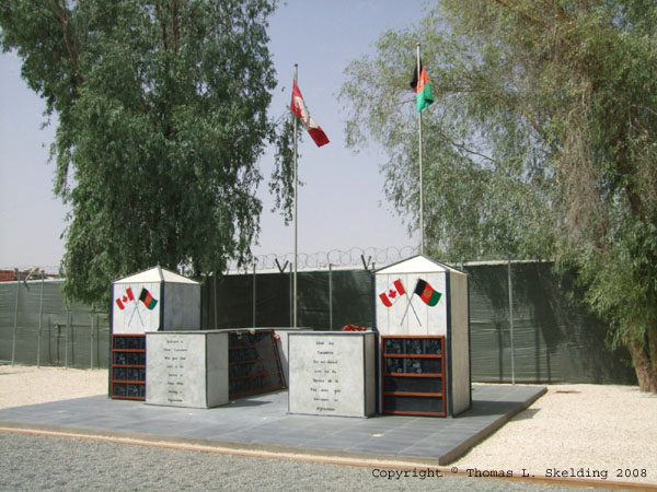 Kandahar Airfield Memorial