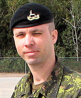 Photo of Allan Stewart – Master Corporal Allan Stewart of the Royal Canadian Dragoons, based at CFB Petawawa, Ontario, was killed when a roadside bomb exploded near his vehicle, 11 April 2007. The incident occurred shortly before 8 p.m. Kandahar time, approximately 38 km west of Kandahar City.