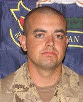 Photo of Darryl James Caswell – Trooper Darryl James Caswell, The Royal Canadian Dragoons.