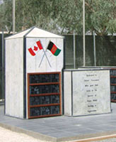 Kandahar Airfield Memorial – Kandahar, Afghanistan Photo submited by Thomas L. Skelding