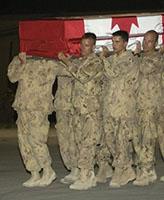 Ramp Ceremony – RAMP Ceremony at Kandahar Airfield on June 21, 2007.