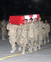 Ramp Ceremony – RAMP Ceremony, Kandahar Airfield June 21, 2007.