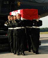 Ramp Ceremony – Repatriation Ceremony Trenton Canada June 24, 2007