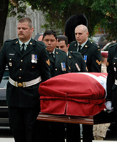 Funeral – Funeral Service for Cpl Jordan Anderson