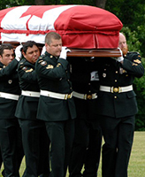Internment service – Internment Service for Cpl Jordan Anderson