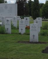 Grave Marker – Gravesite of Cpl Jordan Anderson 14 July 2007 National Military Cemetery Ottawa Ontario