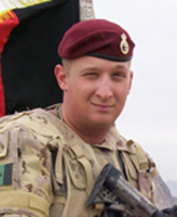 Photo of Jordan Anderson – Cpl Jordan Anderson - Taken 02 March 2007.