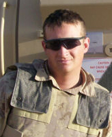 Photo of Jordan Anderson – Cpl Jordan Anderson - Taken 20 March 2007.