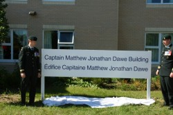 Captain Matthew Dawe building