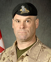 Photo of Mario Joseph Christian Michel Mercier – MWO Mario Mercier, was killed on 22 August, 2007 after the vehicle he was traveling in, a LAV III, struck a suspected mine. The incident occurred at 6:19 am Kandahar time, approximately 50 km West of Kandahar City during Operation EAGLE EYE, a joint Afghan National Security Force (ANSF) and ISAF operation aimed at further stabilizing the District of Zharey. MWO Mercier was a member of 2e Bataillon, Royal 22e Régiment, based in Valcartier, Québec.  Photo credit : Cplc Martine Morin, Section d'imagerie Garnison Valcartier.