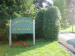 Entrance of Forest Hill Cemetery – Forest Hill Cemetery, Fredericton, NB. Photo taken July 2008 by Milou Graves.