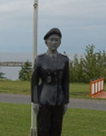 Memorial – After my summer vacation in the Gaspésie in 2013, I stopped at Les Méchins to pay my respects to Cpl Blais. She was on the same rotation as my son. I was stunned by what the municipality of Les Méchins had done to honour Cpl. Blais. This memorial is located along Route 132 and is illuminated at night. You can't ask for more from a small municipality. Thank you Les Méchins for what you have done. Richard Arial (adj ret)