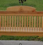 Memorial Bench for Corporal Blais