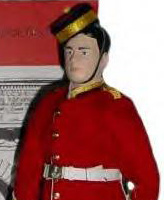 Memorial Doll – Royal Military College of Canada Cadet Memorial doll