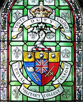 Memorial stained Glass – Memorial window, Royal Military College, Kingston