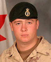 Photo of Kevin McKay – Portrait of Private K.T. McKay, 1st Battalion, Princess Patricia's Canadian Light Infantry.  (Image credit: Department of National Defence.)