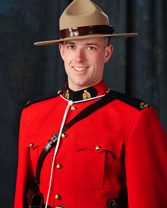 Gendarme Michael Bernard Potvin – © Sa Majesté la Reine du chef du Canada représentée par la Gendarmerie royale du Canada