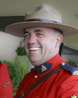 Sergent Mark Charles Gallagher – © Sa Majesté la Reine du chef du Canada représentée par la Gendarmerie royale du Canada