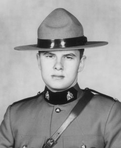 Constable Gordon Alfred Brooks – © Her Majesty the Queen in Right of Canada as represented by the Royal Canadian Mounted Police