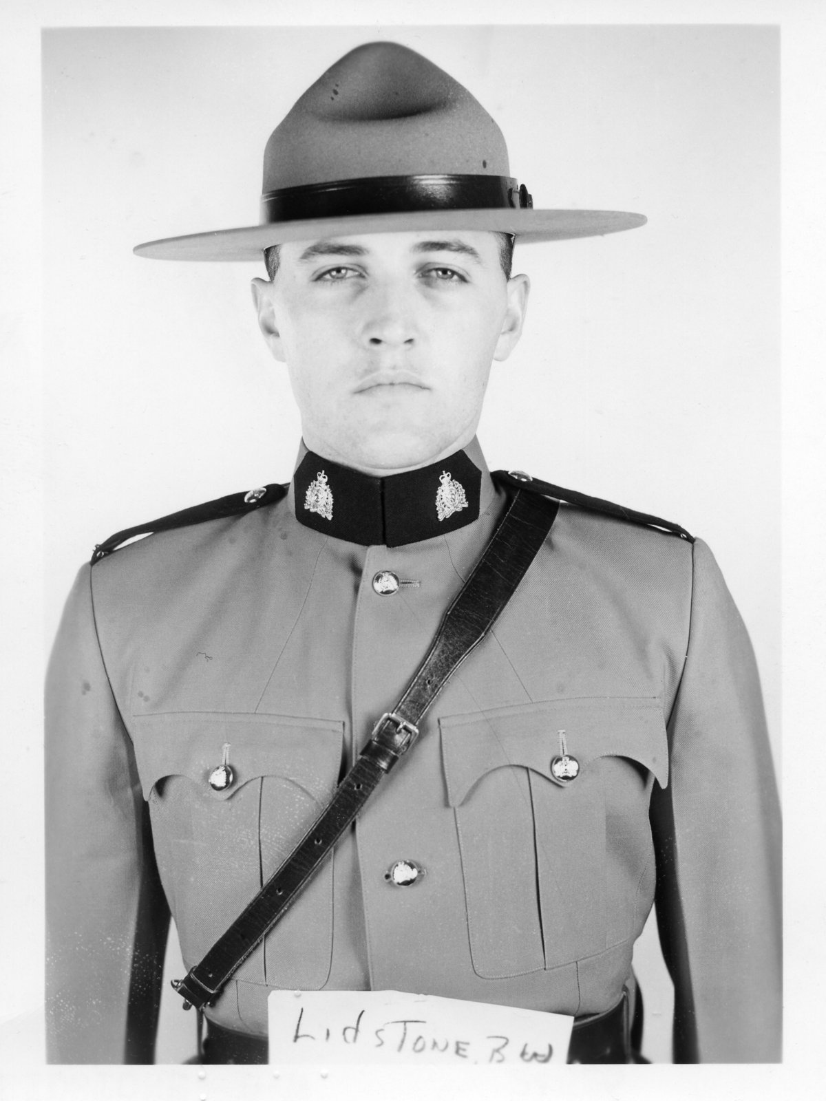 Corporal Barry Warren Lidstone – © Her Majesty the Queen in Right of Canada as represented by the Royal Canadian Mounted Police