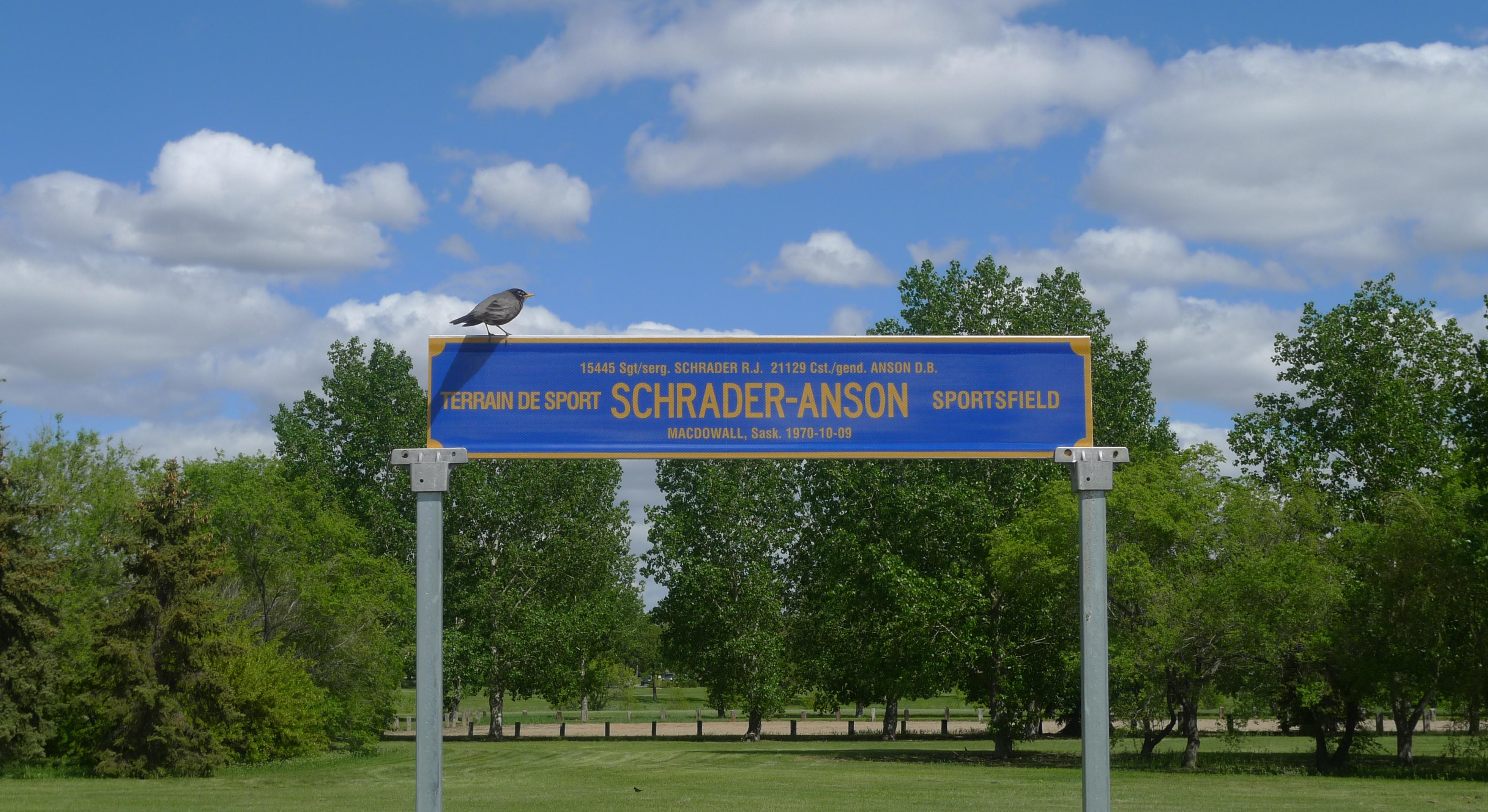 Terrain de jeux Schrader-Anson à Dépôt