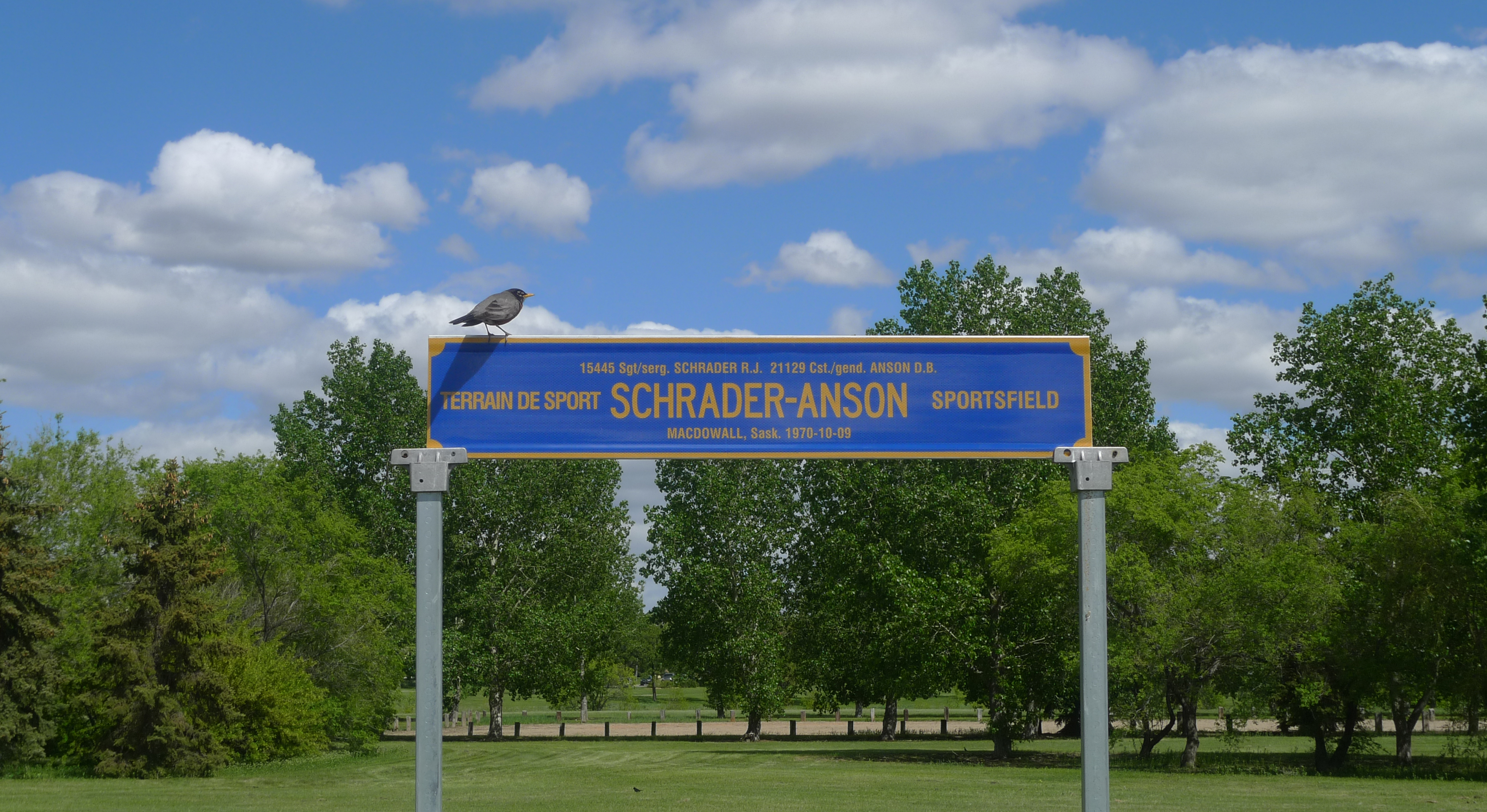 Schrader-Anson Sports Field at Depot – © Her Majesty the Queen in Right of Canada as represented by the Royal Canadian Mounted Police
