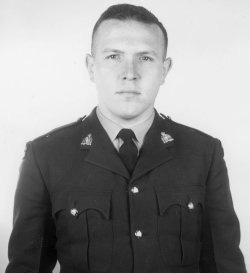 Third Class Constable Philip John Francis Tidman – © Her Majesty the Queen in Right of Canada as represented by the Royal Canadian Mounted Police