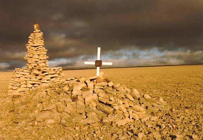 La stèle funéraire – Photo gracieuseté de www.rcmpgraves.com